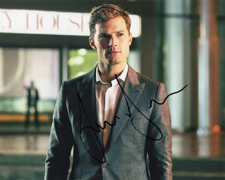 Jamie Dornan, Fifty Shades of Grey, signed 10x8 inch photo.